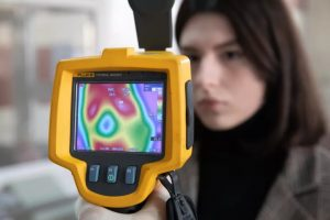 Information About the Thermal Image Electronic Cameras